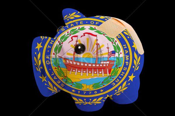 Stok fotoğraf: Zengin · banka · renkler · bayrak