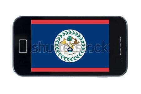 Bandeira americano Delaware telefone internet Foto stock © vepar5