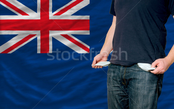 recession impact on young man and society in new zealand Stock photo © vepar5