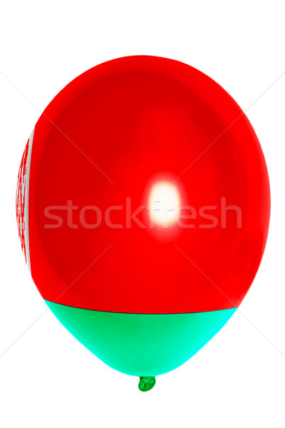 Balloon colored in  national flag of belarus    Stock photo © vepar5