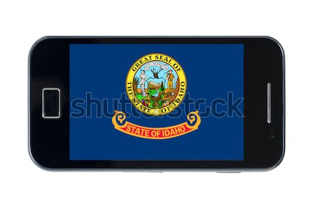Bandeira americano Nebraska telefone telefone Foto stock © vepar5