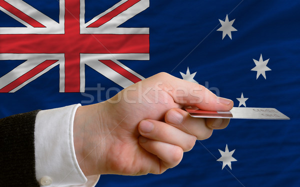 buying with credit card in australia Stock photo © vepar5