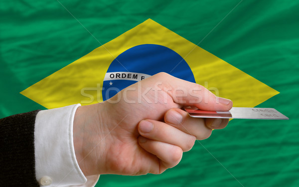 buying with credit card in brazil Stock photo © vepar5