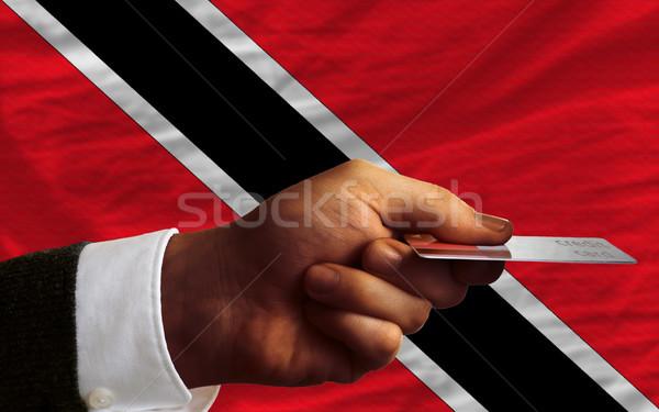 buying with credit card in trinidad tobago Stock photo © vepar5