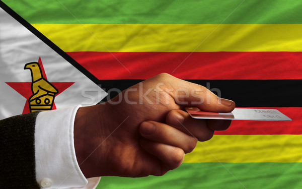 buying with credit card in zimbabwe Stock photo © vepar5