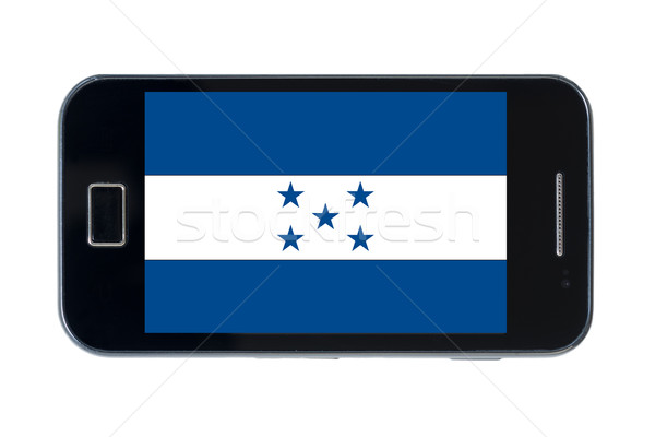 смартфон флаг Гондурас телефон интернет телефон Сток-фото © vepar5