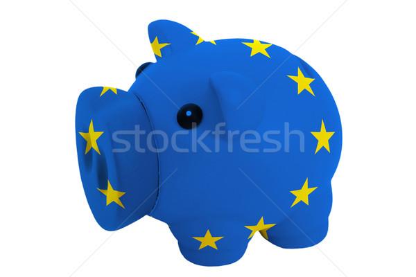 Riche banque couleurs pavillon Europe Photo stock © vepar5