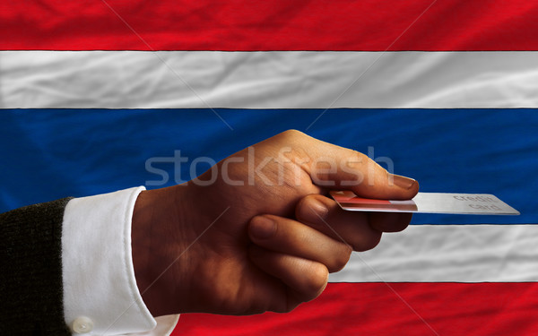 buying with credit card in thailand Stock photo © vepar5