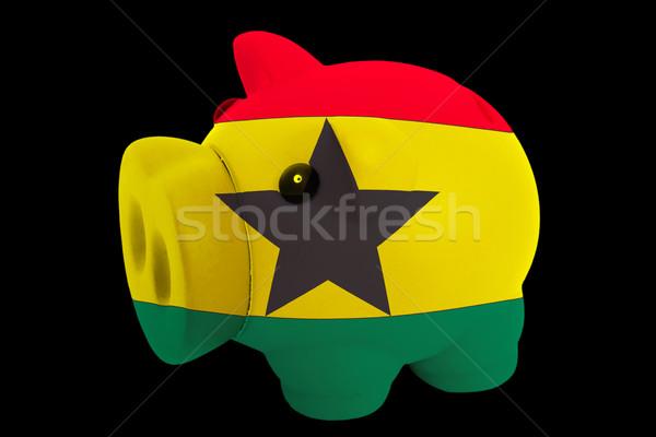 Ricca banca colori bandiera Ghana Foto d'archivio © vepar5