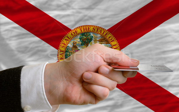 buying with credit card in us state of florida Stock photo © vepar5