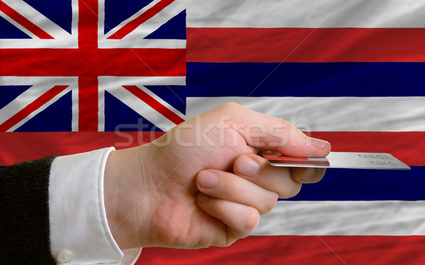 buying with credit card in us state of hawaii Stock photo © vepar5