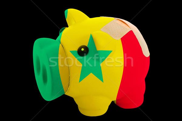 Zengin banka renkler bayrak Stok fotoğraf © vepar5