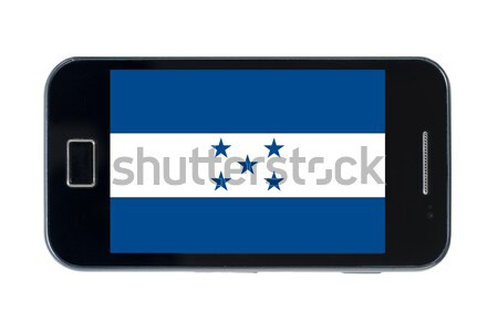 smartphone flag of american state of north carolina    Stock photo © vepar5