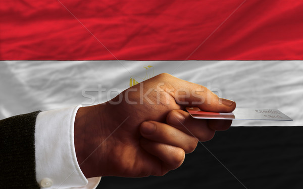 buying with credit card in egypt Stock photo © vepar5
