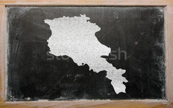 地図 アルメニア 黒板 図面 ストックフォト © vepar5