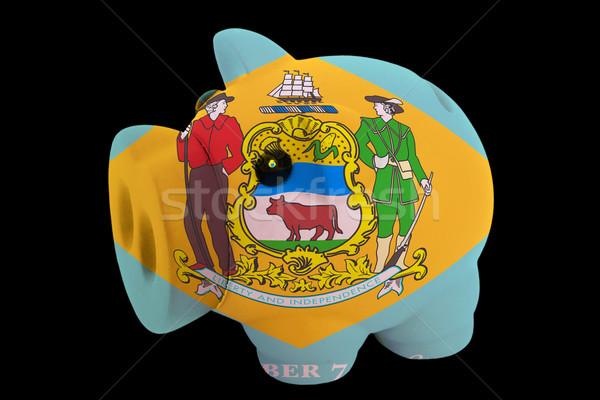 Rijke bank kleuren vlag amerikaanse Stockfoto © vepar5