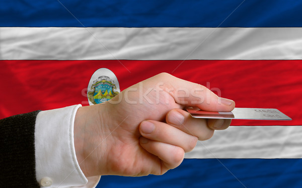 buying with credit card in costarica Stock photo © vepar5