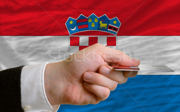 buying with credit card in croatia Stock photo © vepar5