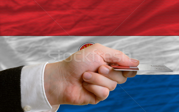 buying with credit card in paraguay Stock photo © vepar5
