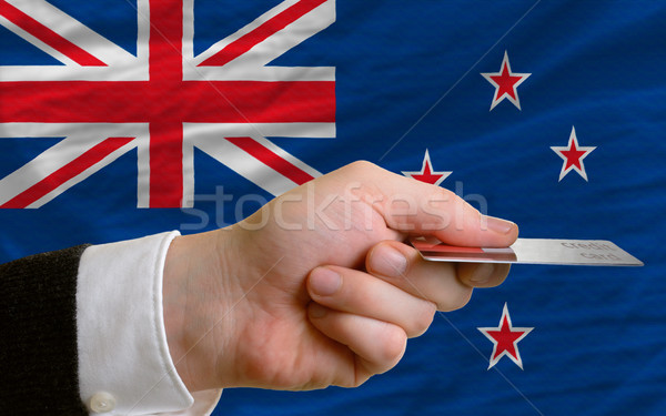 buying with credit card in new zealand Stock photo © vepar5