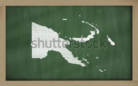 Harita Massachusetts tahta çizim kara tahta Stok fotoğraf © vepar5