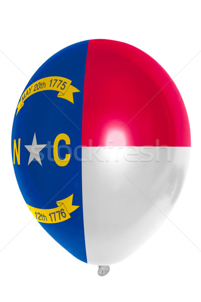 Balloon colored in  flag of american state of north carolina    Stock photo © vepar5