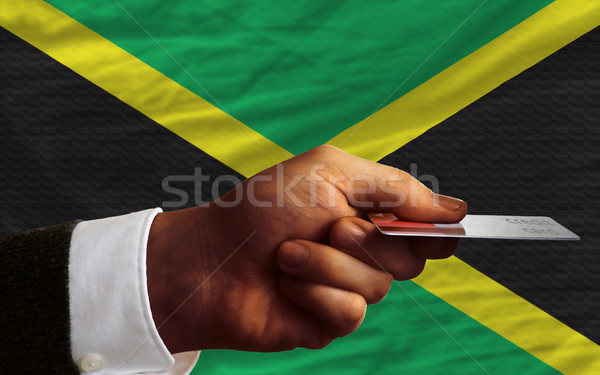 buying with credit card in jamaica Stock photo © vepar5