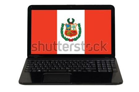 smartphone national flag of peru    Stock photo © vepar5