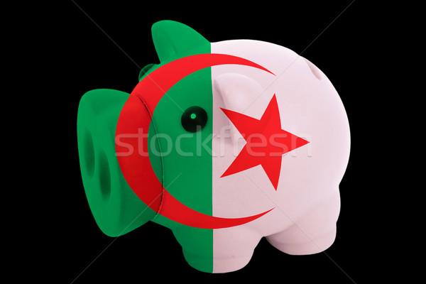 Rico banco cores bandeira Argélia Foto stock © vepar5