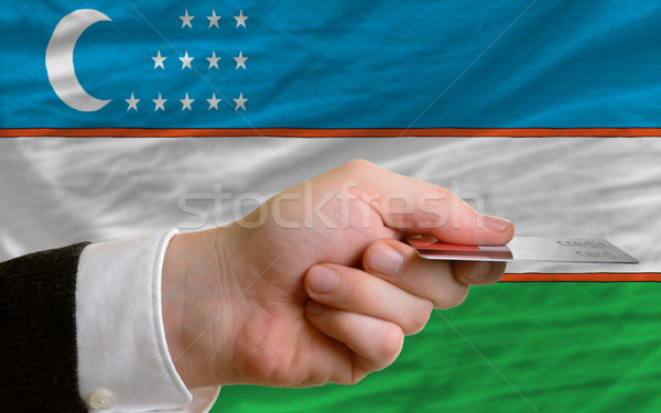 покупке кредитных карт Узбекистан человека из Сток-фото © vepar5