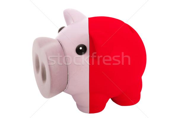 Bogate banku kolory banderą Malta Zdjęcia stock © vepar5