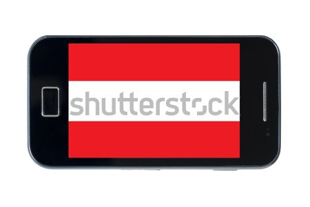 Bandeira Tailândia telefone internet assinar Foto stock © vepar5