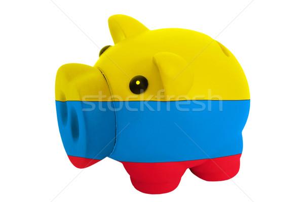 Ricca banca colori bandiera risparmio Foto d'archivio © vepar5