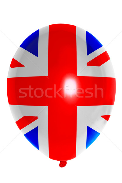 Balloon colored in  national flag of united kingdom    Stock photo © vepar5