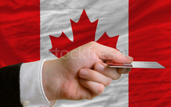 buying with credit card in canada Stock photo © vepar5