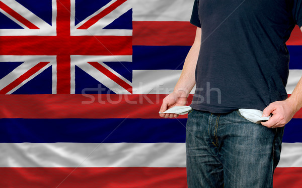 Recesión joven sociedad americano pobres hombre Foto stock © vepar5