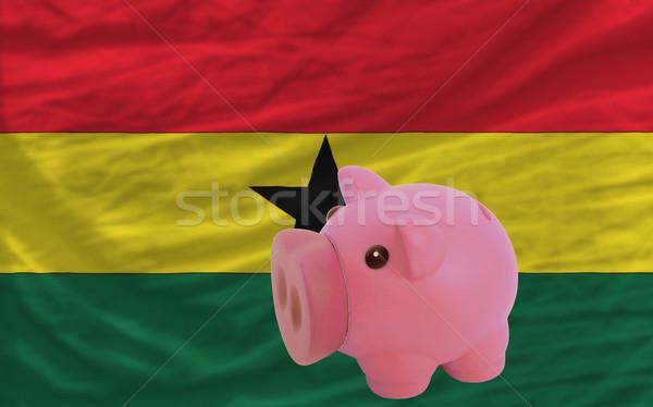 Rico banco bandeira Gana Foto stock © vepar5