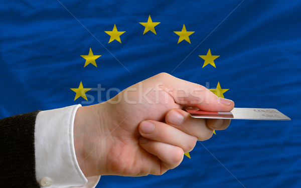 buying with credit card in europe Stock photo © vepar5