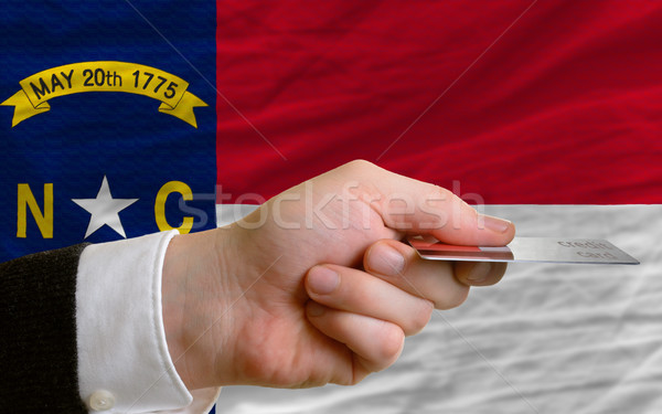 buying with credit card in us state of north carolina Stock photo © vepar5