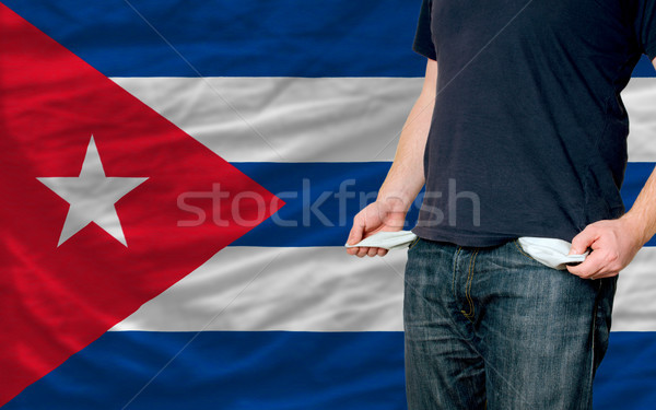 recession impact on young man and society in cuba Stock photo © vepar5