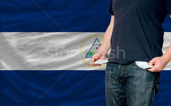 Stock fotó: Recesszió · fiatalember · társadalom · Nicaragua · szegény · férfi