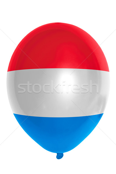 Balloon colored in  national flag of holland    Stock photo © vepar5