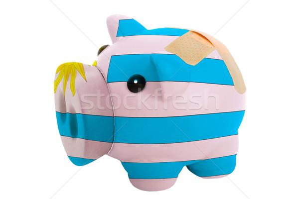Gesloten rijke bank zwachtel kleuren Stockfoto © vepar5