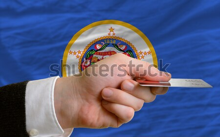 buying with credit card in us state of new york Stock photo © vepar5