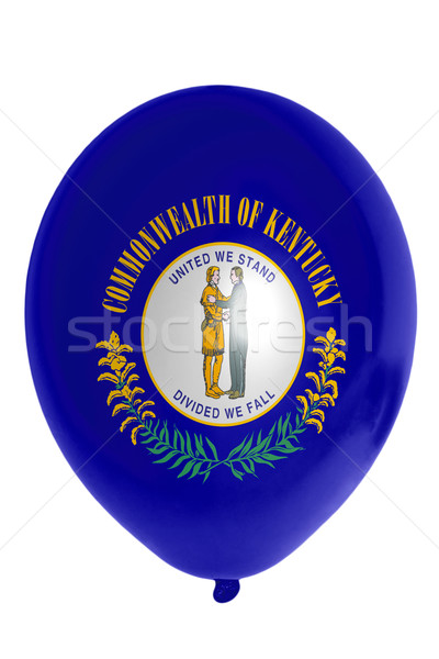 Balloon colored in  flag of american state of kentucky    Stock photo © vepar5