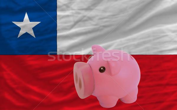 Rijke bank vlag Chili Canada Stockfoto © vepar5