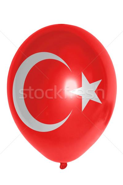 Globo bandera Turquía feliz viaje Foto stock © vepar5