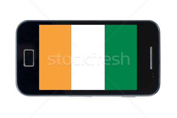 smartphone national flag of cote ivore    Stock photo © vepar5