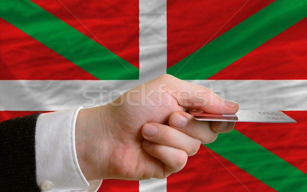 buying with credit card in basque Stock photo © vepar5