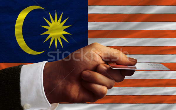 buying with credit card in malaysia Stock photo © vepar5